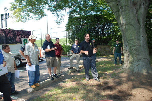 Michael Almstead, August 9, 2012.  The Compost Tea Workshop was held on the beautiful  campus of Rye Country Day School.